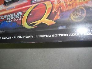 【送料無料】模型車 モデルカー スポーツカートニートップフューエルnhra 2007tony pedregon q power 116th top fuel funny car