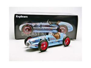 【送料無料】模型車 モデルカー スポーツカーインディreplicarz 118 blue crown special indy 500 winner 1947 r1801027