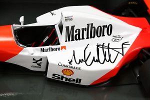 【送料無料】模型車 モデルカー スポーツカーマイケルアンドレッティマクラーレンフォードフォーミュラインディタバコf1 118 michael andretti signed 1993 mclaren mp48 ford formula 1 indy tobacco