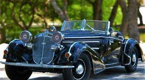 【送料無料】模型車 モデルカー スポーツカーヴィンテージスポーツコンセプトvintage sport car inspiredby duesenberg 1 18 dream 43 concept 24 1930s 12 j 64
