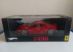 【送料無料】模型車 モデルカー スポーツカーホットホイールエリートフェラーリ118 hot wheels elite ferrari f430 mib