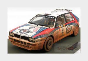 【送料無料】模型車 モデルカー スポーツカーランチアデルタ#lancia delta hf integrale 4 winner montecarlo 1992 topmarques 112 tmr1201ad m