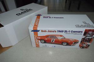 【送料無料】模型車 モデルカー スポーツカーボブジェーン#カマロクラシックbob jane039;s 1969 zl1 camaro classic carlectables 118