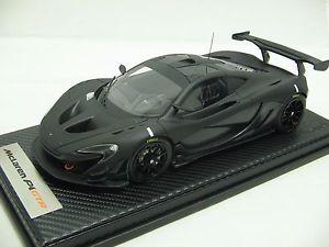 【送料無料】模型車 モデルカー スポーツカースケールマクラーレンカーボンブラックトラックテスト