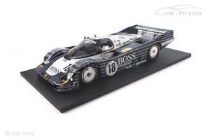 【送料無料】模型車 モデルカー スポーツカーポルシェルマンカジュアルウィルソンporsche 956 24h le mans 1983casualinvitationwilson 1 of 300tsm