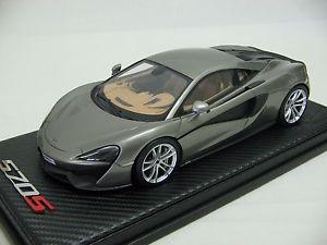 【送料無料】模型車 モデルカー スポーツカースケールマクラーレンニューヨークオートショー118 scale tecnomodel mclaren 570s coup york auto show 2015 t18ex02b
