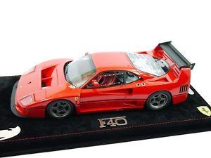 【送料無料】模型車 モデルカー スポーツカーモデルフェラーリバージョンレッドbbr models p18139avferrari f40 lm press version 1990 red