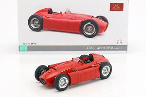 【送料無料】模型車 モデルカー スポーツカーランチアlancia d50 year 19541955 red 118 cmc
