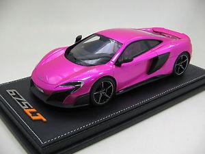 【送料無料】模型車 モデルカー スポーツカースケールマクラーレンフラッシュピンクパック