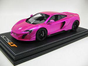 【送料無料】模型車 モデルカー スポーツカースケールマクラーレンフラッシュピンク118 scale tecnomodel mclaren 675lt flash pink total body 2015 t18ex01d