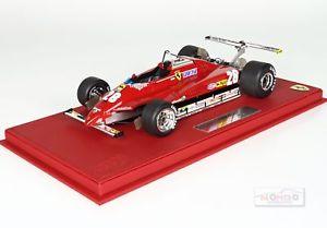 【送料無料】模型車 モデルカー スポーツカーフェラーリ#ロングビーチグランプリモデルferrari f1 126 c2 28 long beach gp 1982 dpironi red bbr 118 p18132b model