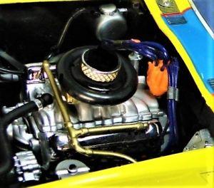 【送料無料】模型車 モデルカー スポーツカー1963vetteコルベット1432418メリーゴーラウンド121963 vette chevy corvette concept 1 car 43 sport 24 race 18 carousel yellow 12