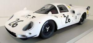 【送料無料】模型車 モデルカー スポーツカーフェラーリホワイトエレファント#technomodel 118 scaleresin tm1817c ferrari 365 p2 white elephant lm 1967 26