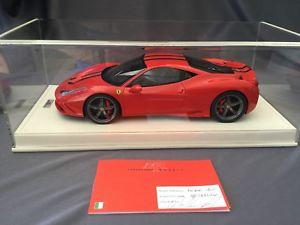 【送料無料】模型車 モデルカー スポーツカーフェラーリロッソスクーデリアferrari 458 speciale rosso scuderia 118 mr rare limited edition 49 items