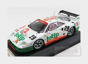 【送料無料】模型車 モデルカー スポーツカーフェラーリターボ#ルマンferrari f40 competizione 30l turbo v8 totip 29 le mans 1994 mg 118 f401808 m