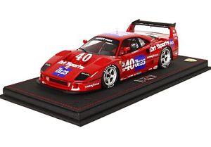 【送料無料】模型車 モデルカー スポーツカーフェラーリアートスポーツ#ferrari f40 art sports 40 imsa topeka 1990 jp jabouille bbr 118 p18139cv fas