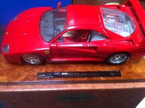 【送料無料】模型車 モデルカー スポーツカーフェラーリプロトタイプbburago ferrari f40 prototype by 1987