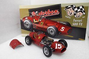 【送料無料】模型車 モデルカー スポーツカーフェラーリグランプリイギリスアスカリf1 ferrari 500 f2 long nose 1952 winner gp british ascari 118 exoto 97192