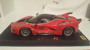 【送料無料】模型車 モデルカー スポーツカーフェラーリkferrari fxx k bbr 118