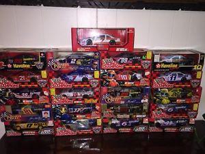 【送料無料】模型車 モデルカー スポーツカーロットスケールnascar lot of 21 124 scale