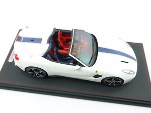 【送料無料】模型車 モデルカー スポーツカーモデルフェラーリアメリカホワイトbbr models p18125lferrari f60 america 2014 white