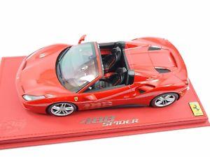 【送料無料】模型車 モデルカー スポーツカーモデルフェラーリトリプルbbr models p18120avferrari 488 2015 red triple