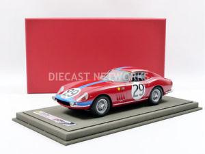 【送料無料】模型車 モデルカー スポーツカーフェラーリルマンbbr 118 ferrari 275 gtb le mans 1967 bbr1826