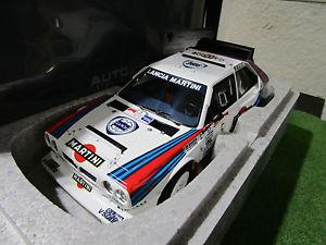 【送料無料】模型車 モデルカー スポーツカーランチアデルタラリーアルゼンチンミニチュアlancia delta s4 5 rally argentina 1986 to 118 autoart 88621 car miniature