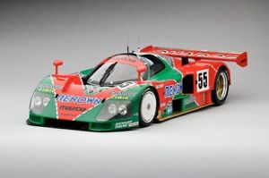 【送料無料】模型車 モデルカー スポーツカーマツダルマンスケールmazda 787b 1991 le mans winner 112 scale by tsm