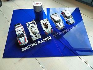 【送料無料】模型車 モデルカー スポーツカーマルティニレーシングフェラーリポルシェランチアアルファロメオグアテマラmartini racing 25 years 143 dtm ferrari porsche lancia alfa romeo no 911 m3 gt