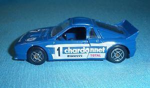 【送料無料】模型車 モデルカー スポーツカーヴィンテージランチアラリー143a vintage solido 1205 lancia 037 rally chardonnet 143