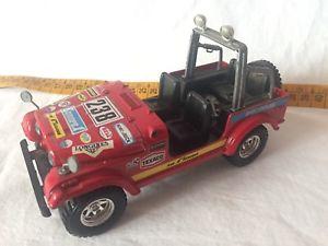 【送料無料】模型車 モデルカー スポーツカージープburago 124 jeep cj 7 used