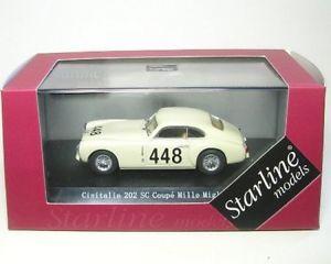 【送料無料】模型車 モデルカー スポーツカークーペミッレミリアcisitalia 202 sc coupe 448 mille miglia 1949