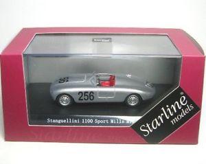 【送料無料】模型車 モデルカー スポーツカースポーツミッレミリアstanguellini 110 sport 256 mille miglia 1951