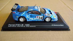 【送料無料】模型車 モデルカー スポーツカーフェラーリルマンミッシェルferrari f40 lm 1995 24 heures de le mans michel fert