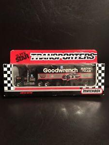 【送料無料】模型車 モデルカー スポーツカーデイルアーンハート#レースチームマッチトランスポーターnascar 1991 dale earnhardt 3 goodwrench racing team matchbox transporters