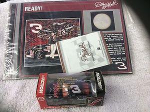 【送料無料】模型車 モデルカー スポーツカーデイルアーンハートコインアクションdale earnhardt 3 164 action ready car with coin