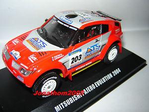 【送料無料】模型車 モデルカー スポーツカーパジェロエボリューションダカールペテランセルコトレmitsubishi pajero evolution 203 dakar 2004 peterhansel cottret au 143