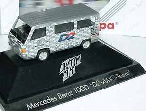 【送料無料】模型車 モデルカー スポーツカーメルセデスベンツバスプライベートチーム187 mercedesbenz 100d bus dtm 1994 amgd2 privatteam herpa 036306