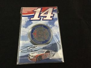 【送料無料】模型車 モデルカー スポーツカートニースチュワートコレクターコイン……tony stewart retirement collector coin
