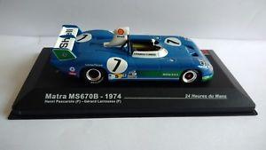 【送料無料】模型車 モデルカー スポーツカーデルマンペスカローロmatra ms670b 1974 24 heures de le mans h pescarolo