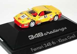 【送料無料】模型車 モデルカー スポーツカーフェラーリチャレンジクラウスグリフィン187 ferrari 348tb challenge nr61, klaus griffin herpa 181303
