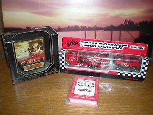 【送料無料】模型車 モデルカー スポーツカーエリオットレースカードプレミアエディションカーチームelliott 1990 max race cards 1992 premier edition car 1992 team convoy