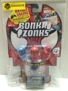 【送料無料】模型車 モデルカー スポーツカーマーベルシリーズスタントカードセットtas032750 hasbro bonka zonks marvel series 1 stunt card set