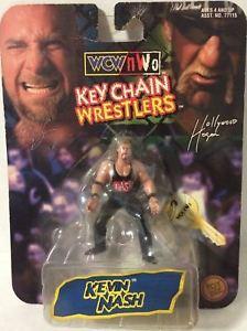 【送料無料】模型車 モデルカー スポーツカートイビズレスリングキーチェーンレスラーケビンナッシュtas005624 1998 toy biz wcw wrestling key chain wrestler kevin nash