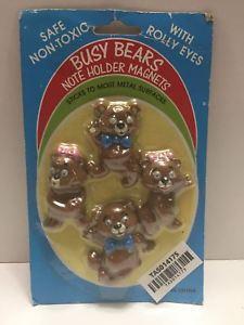【送料無料】模型車 モデルカー スポーツカービジークマメモホルダーマグネットtas014175 busy bears note holder magnets w rolly eyes