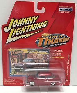 【送料無料】模型車 モデルカー スポーツカーゼネラルモーターズシボレーシボレードアセダンtas033816 2004 general motors chevy thunder car 1955 chevy 2door sedan