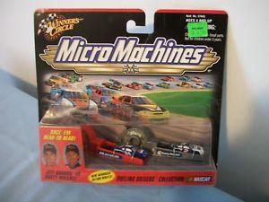 【送料無料】模型車 モデルカー スポーツカーマイクロマシンウォーレスジェフゴードンボックスオンwinners circle micro machines rusty wallace jeff gordon nascar sealed box
