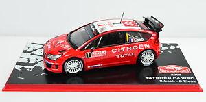 【送料無料】模型車 モデルカー スポーツカーシトロエンラリーモンテカルロ#スケールcitroen c4 wrc rallye montecarlo 2007 1 scale 143