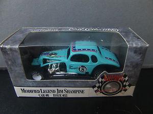 【送料無料】模型車 モデルカー スポーツカージムボールクーペオスウィーゴスピードウェイjim shampine 8ball modified coupe 164 oswego speedway legend
